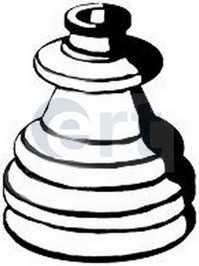 Резиновое кольцо крепления глушителя BMW E30,12,28,34,23,32 500184 ert