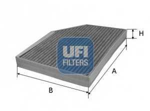 Фильтр, воздух во внутренном пространстве 5422200 ufi